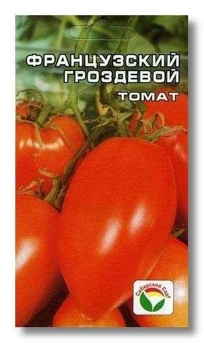 Томат Французский гроздевой является плодом труда сибирских селекционеров.