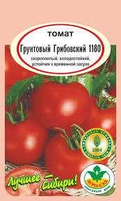 рожайность томата грунтовый Грибовский достаточно высокая, вне зависимости от погодных условий. Кусты достигают высоты до 50 см, поэтому не требуют особого ухода, но нужно проводить умеренное пасынкование. Плод