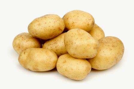 Кожура у картофеля желтого цвета, без шероховатостей. Форма клубней чаще овальная, но иногда может быть и круглой. Масса составляет до 150 гр. Сорт картофеля Импала имеет высокие показатели урожайности, поэ