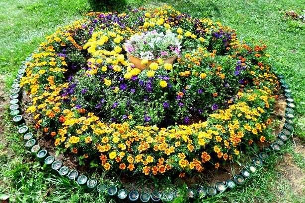 оформления цветников