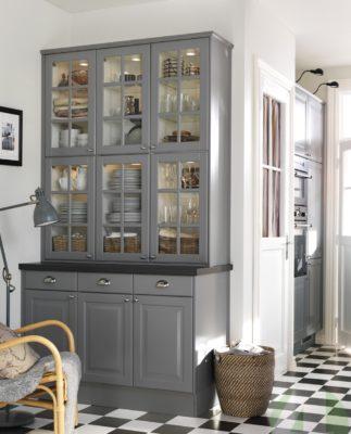 Обустройство кухни в частном доме.