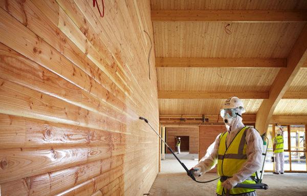 Виды защиты древесины