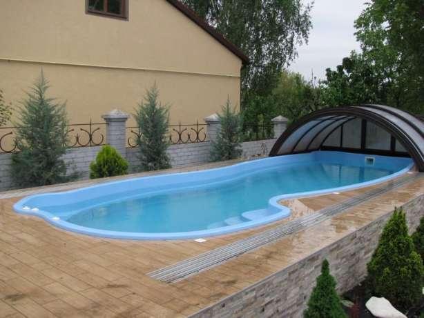 Купить композитный бассейн в частный дом