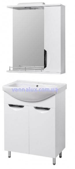 Комплект для ванной комнаты Грация Т-1 55