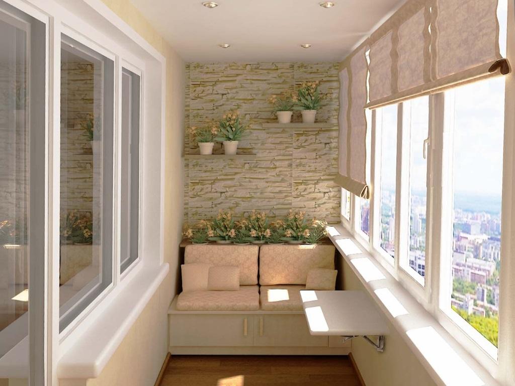 Ремонт балкона в Киеве: отличные идеи как преобразить балкон в уютное пространство