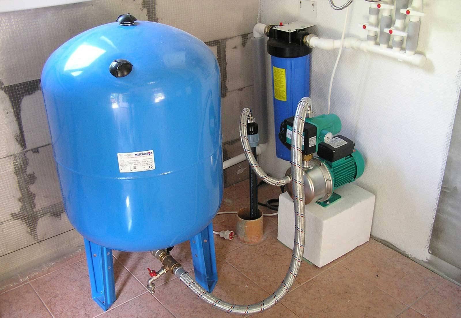 Гидроаккумуляторы водоснабжения: типы, функции, правила выбора
